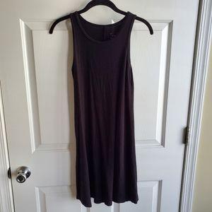 Black Loose Tunic Styled Dress